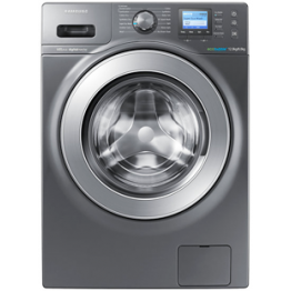 Samsung 12KG Washing Machine + 8KG Dryer, Silver