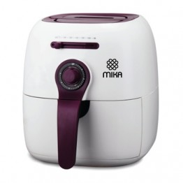 Mika Air Fryer, 2.2 Ltrs, White & Purple