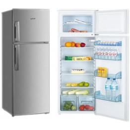 Exzel Fridge 215L Direct Cool - Silver