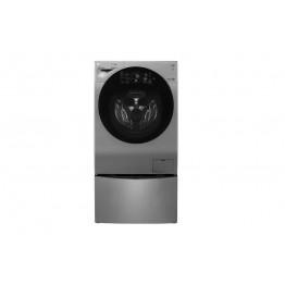 LG  FH6G1BCHK6N + F8K5XNK4 TWIN WASH 12+8kg 1000 RPM Front Load Washer-Dryer + 2Kg Mini Washer