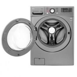 LG F0K2CHK5T2 Front Load Washer/Dryer, 16/10 KG Silver