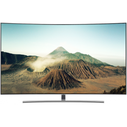 "Samsung 55"" QA-55Q8CNA QLED CURVED SMART LED TV: SERIES 8"