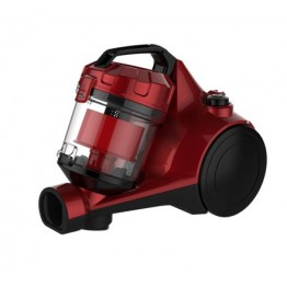 VON VAVC-16DMR Vacuum Cleaner Bagless, 1.6L - Red