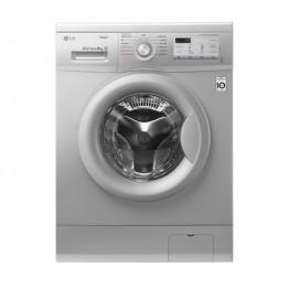LG FH4G7TDY5 Front Load Washing Machine, 8KG, DD, Steam - Silver