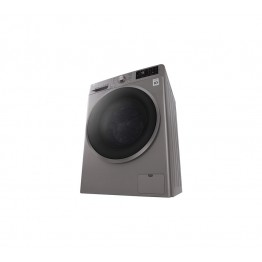 LG F4J6TMP8S Front Load Washer Dryer, 8/5 KG - Silver