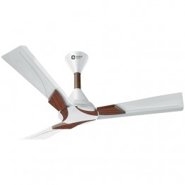 "Orient Wendy Fan White/Brown 56"" with wireless Remote Control"