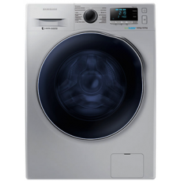 Samsung 9KG Washing Machine + 6KG Dryer, Silver