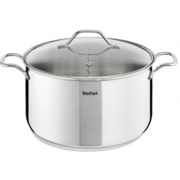 Tefal INTUITION STAINLESS STEEL STEWPOTS + Glass Lid