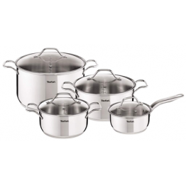 INTUITION STAINLESS STEEL 8pc COOKWARE SET
