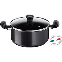 Tefal First Cook Stew Pot Pan + Glass Lid