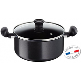 Tefal FIRST COOK STEW POT PAN + GLASS LID