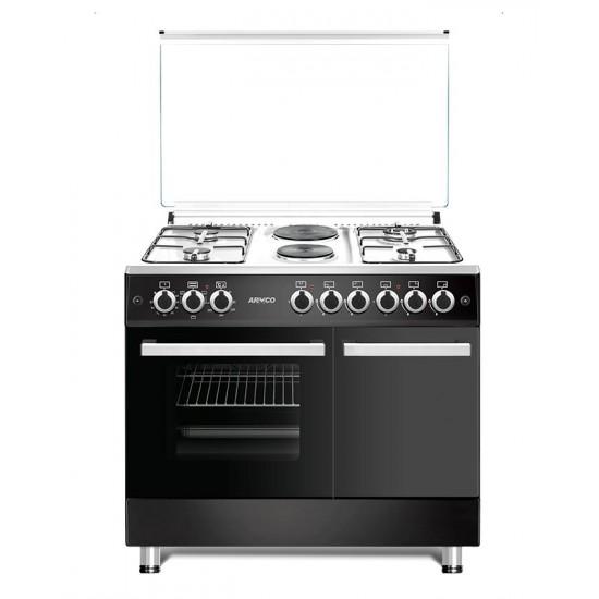 Armco 4 Gas 2 Electric (RAPID) Gas Cooker GC-F9642FBT(BK)