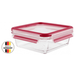 Tefal 0.9L-0.2L  MASTERSEAL GLASS SQUARE