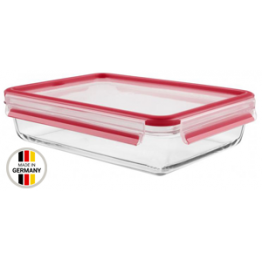 Tefal 3.0L-2.0L MASTERSEAL GLASS RECTANGULAR