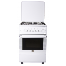 Standing Cooker, 50cm X 55cm, 4GB, Electric Oven, White