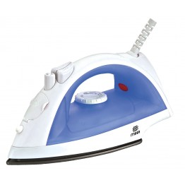 STEAM IRON, ADJUSTABLE STEAM & SPRAY
