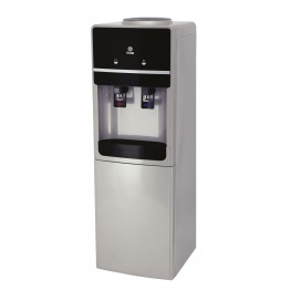 Water Dispenser, Standing, Hot & Cold. Compressor cooling, Silver & Black