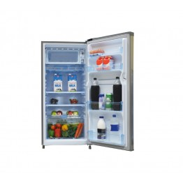 Mika Refrigerator, 170L, Direct Cool, Single Door, Hairline Silver