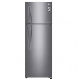 LG  GL-C362RLBN 310L-10.95 qft Double Door Fridge - Shiny Silver