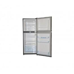 Mika Refrigerator, 108L, Direct Cool, Double Door, Black Brush