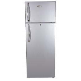 Mika Refrigerator, 212L, CF, Direct Cool, Double Door, Silver brush