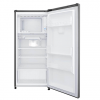 GN-Y331SLBB 199L-7.03 qft Single Door Fridge - Shiny Steel