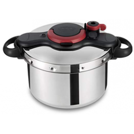 Tefal 9L/7.5L  CLIPSO MINUT INOX EASY PRESSURE COOKERS