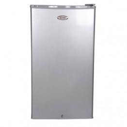 Mika Refrigerator, 90L Direct Cool, Single Door, Silver Brush