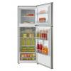 MIKA Refrigerator, 239L, No Frost, Double Door, Stainless Steel