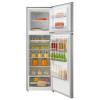 Mika Refrigerator, 268L, No Frost, Double Door, Stainless Steel