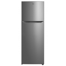 Mika Refrigerator, 372L, No Frost, Double Door, Silver Finish