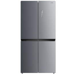 MIKA Refrigerator, 545L, No Frost, 4 Door, Stainless Steel