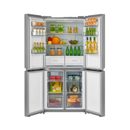 MIKA Refrigerator, 545L, No Frost, 4 Door, Stainless Steel