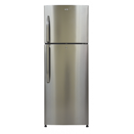Mika No Frost Refrigerator, 310L, Double Door, Stainless Steel