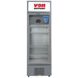 Von Hotpoint HPBC198W/VARV19DAS Vertical Cooler, 188L - White+Grey