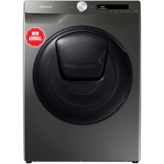 Samsung Front Load Washer + Dryer WD90T554DBN