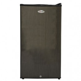 Mika Refrigerator, 90L, Direct Cool, Single Door, Black Brush
