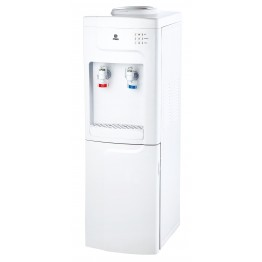Water Dispenser, Standing, Hot & Cold. Compressor cooling, White