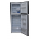 MIKA No Frost Refrigerator, 251L, Double Door, Dark Matt Stainless Steel