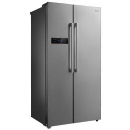 MIKA Refrigerator, 587L, No Frost, 2 Door, Stainless Steel