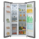MIKA Refrigerator, 587L, No Frost, 2 Door, Stainless Steel
