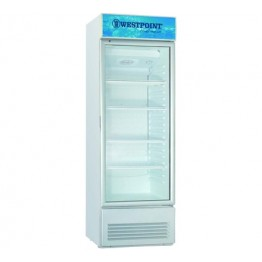 Westpoint WPX-3217.ET Vertical Cooler, 280L - White+Grey