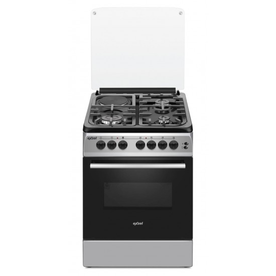 Exzel 3 Gas + 1 Electric Electric Oven