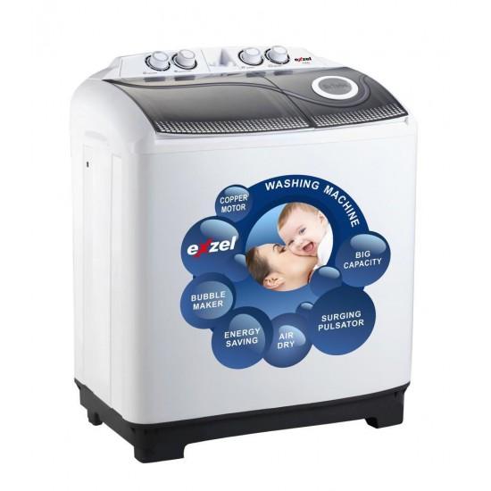 Exzel 11KG Twin Tub Washing Machine EW-11TT
