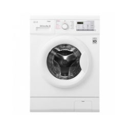 LG 8kg 1400 RPM Front Load Washer Steam