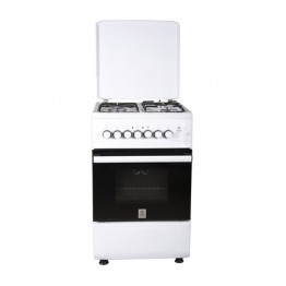 Standing Cooker, 60cm X 60cm, 3 + 1, Electric Oven, White