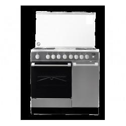Von  4 Gas + 2 Electric Cooker Stainless Steel VAC9B422X