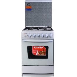 Von Hotpoint 4gas Cooker C5555EW White