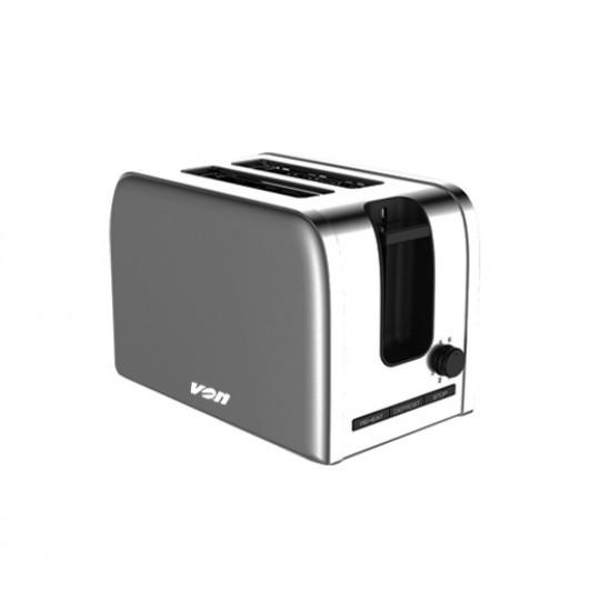Von 2 Slice Toaster Stainless Steel  VSTP02MVX