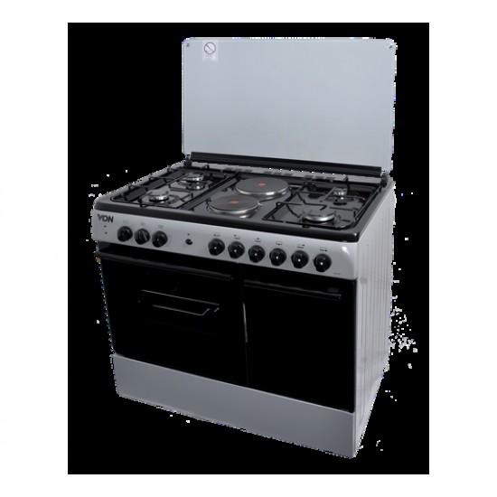 Von 4 Gas + 2 Electric Cooker VAC9S042CS